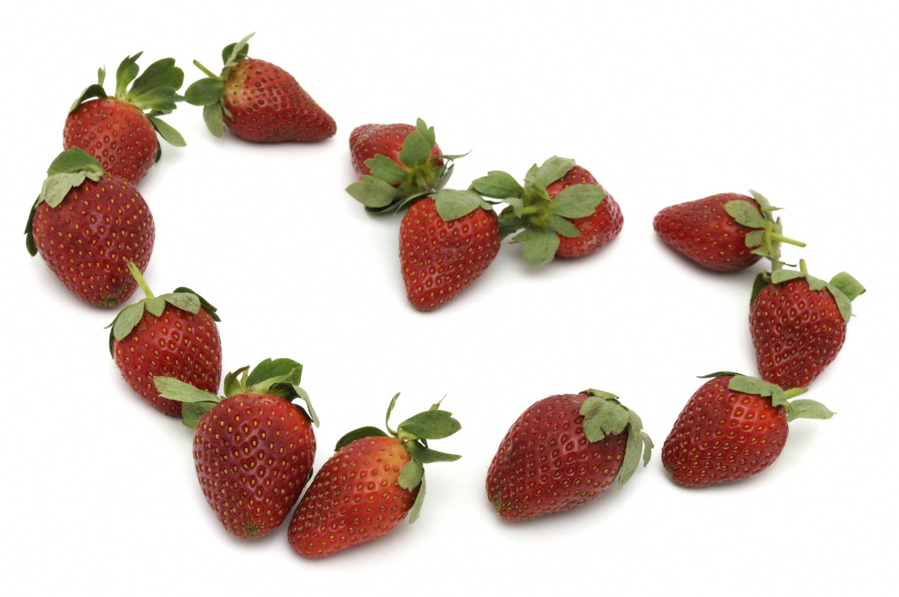 Coeur fraises 1 niffylux banque d 39 images images - Images coeur gratuites ...