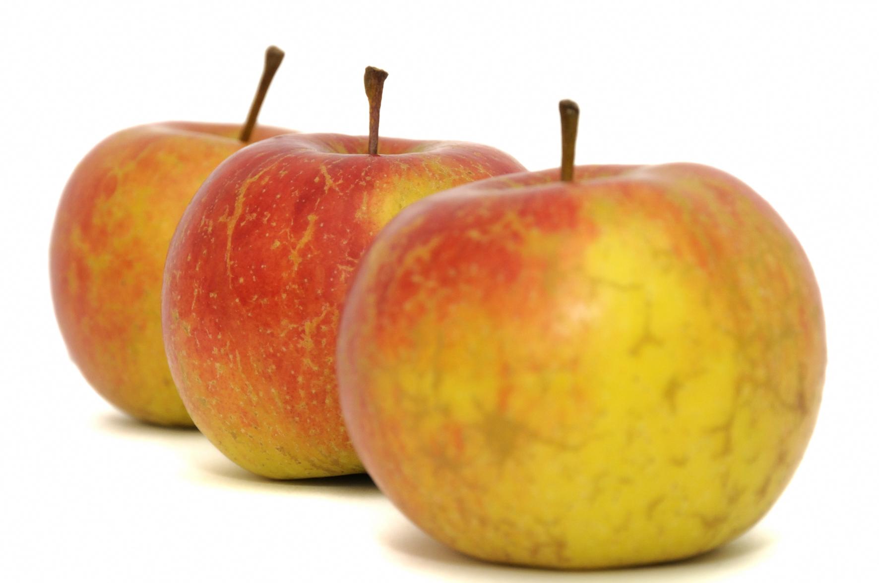 pommes bicolore 8 fruit alimentation nourritures toute image niffylux banque d. Black Bedroom Furniture Sets. Home Design Ideas