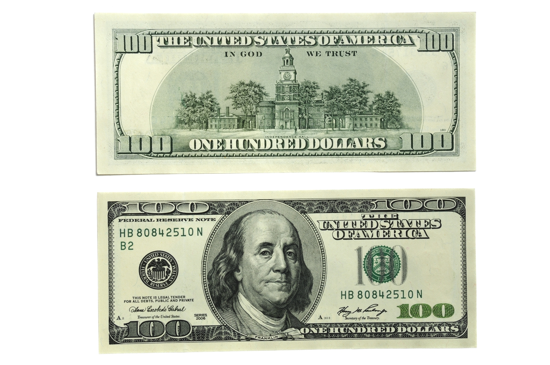 It is a graphic of Irresistible Free Printable 100 Dollar Bill