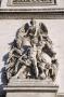 Statue arc de triomphe Paris #1