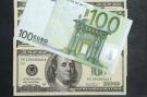 Billet 100 euro sur 100 dollars #1