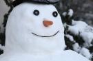 Visage bonhomme de neige #1