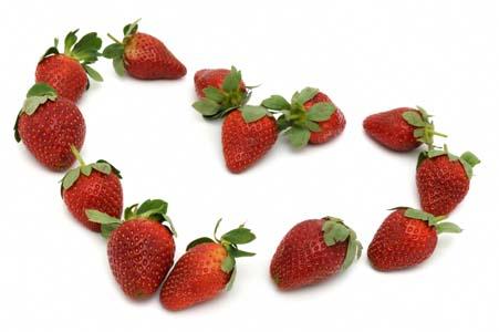 Coeur fraises 1 niffylux banque d 39 images images gratuites free photo - Images coeur gratuites ...