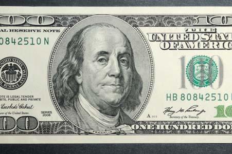Billet 100 Dollars 9